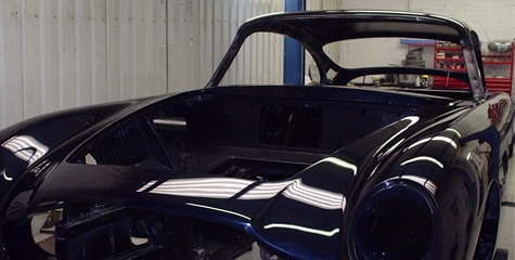 Paintworks and Resprays. Northampton Classic Car Restoration
