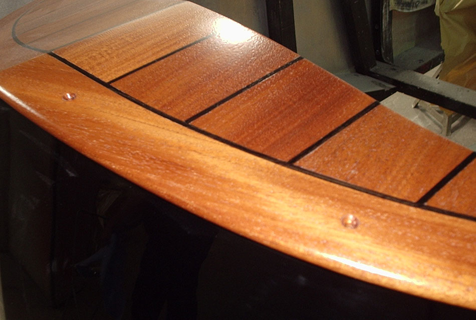 interior woodwork finishing