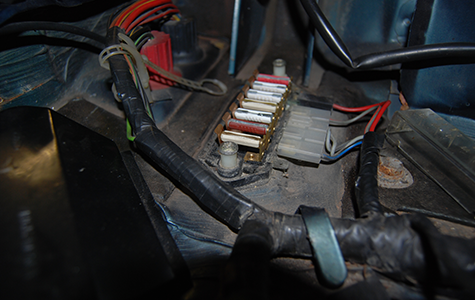 Rewiring and fuse fixes
