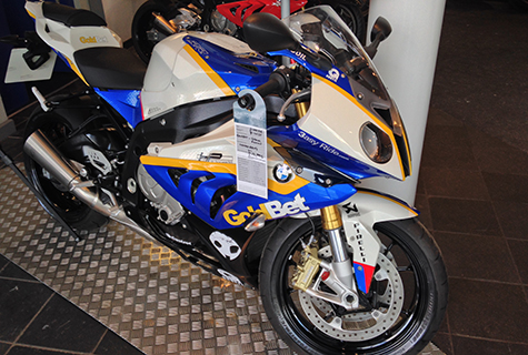 BMW S1000RR GoldBet