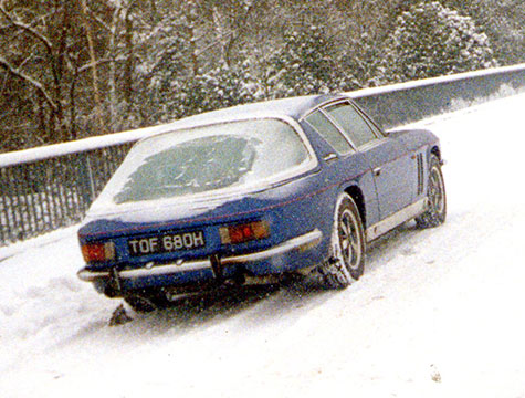 Find the best way to treat your classic this winter…