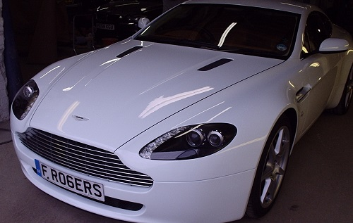 Aston Martin Colour Change