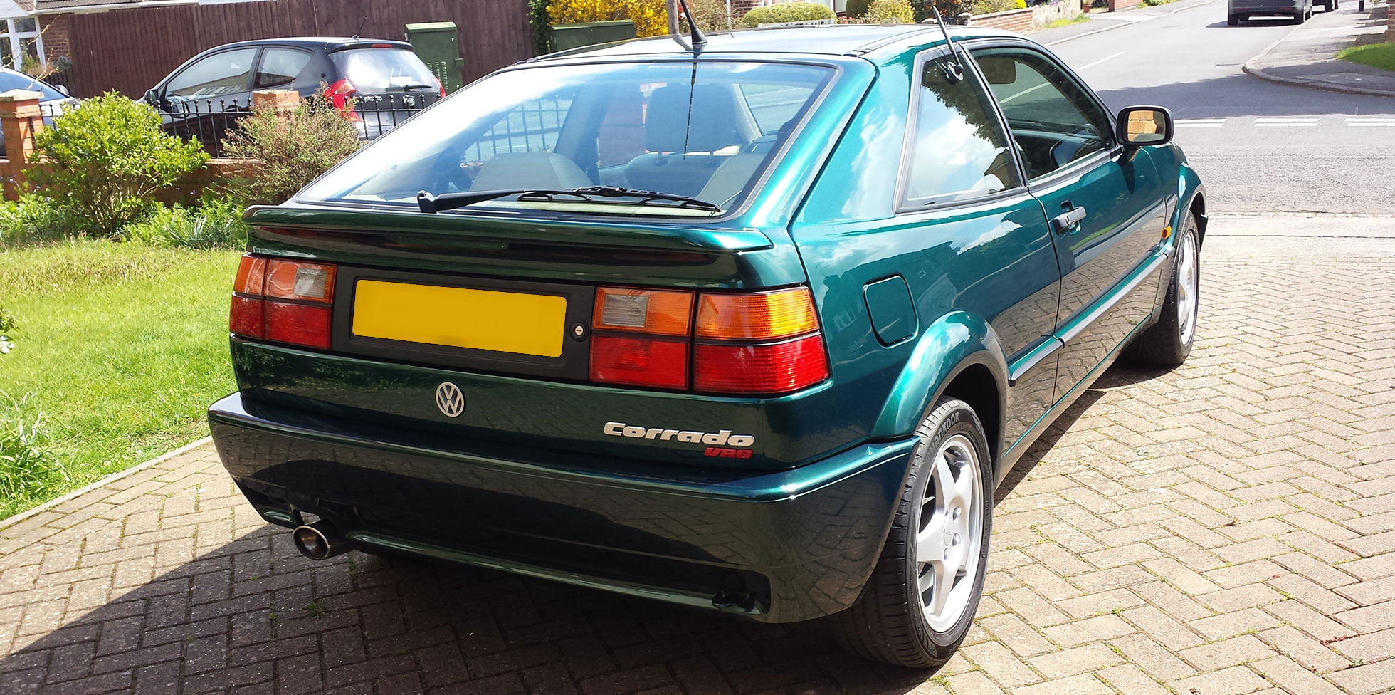 Volkswagen Corrado paint finishing