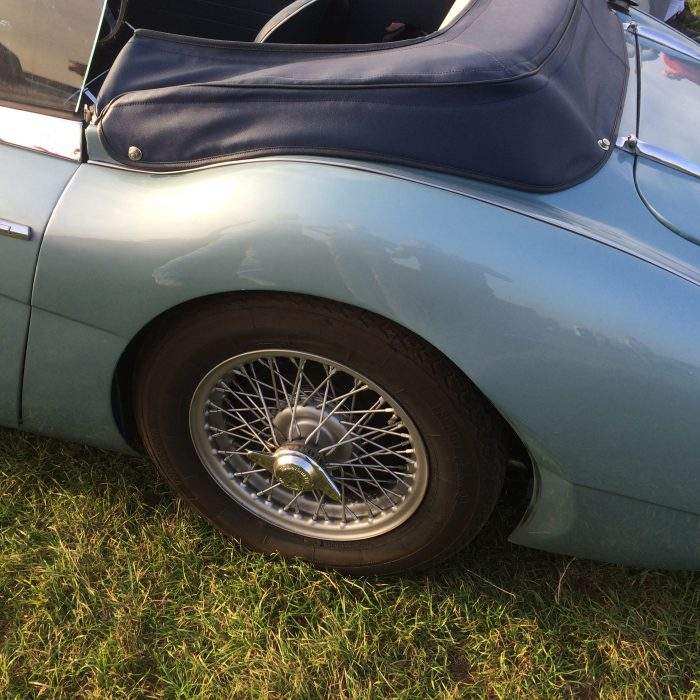Austin Healey 3000 Accident Repair